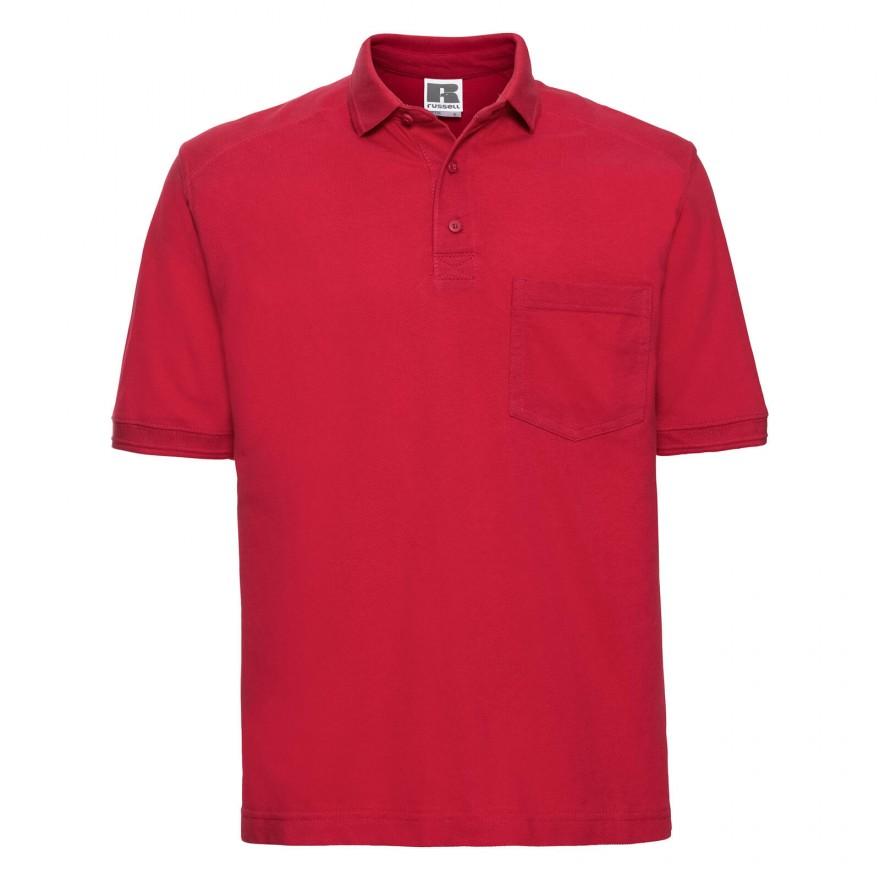 besserer Preis guter Service Brauch Workwear Polo mit Brusttasche - Baumwolle, 8 Farben bis 4XL