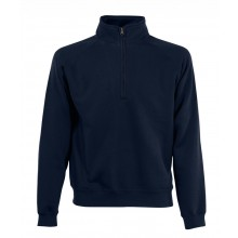 1/4 Zip-Neck-Sweatshirt