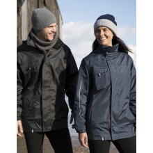 Security 3-in-1 Transit Jacket | bis 4XL