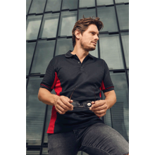 Men's Function Contrast Polo | bis 3XL